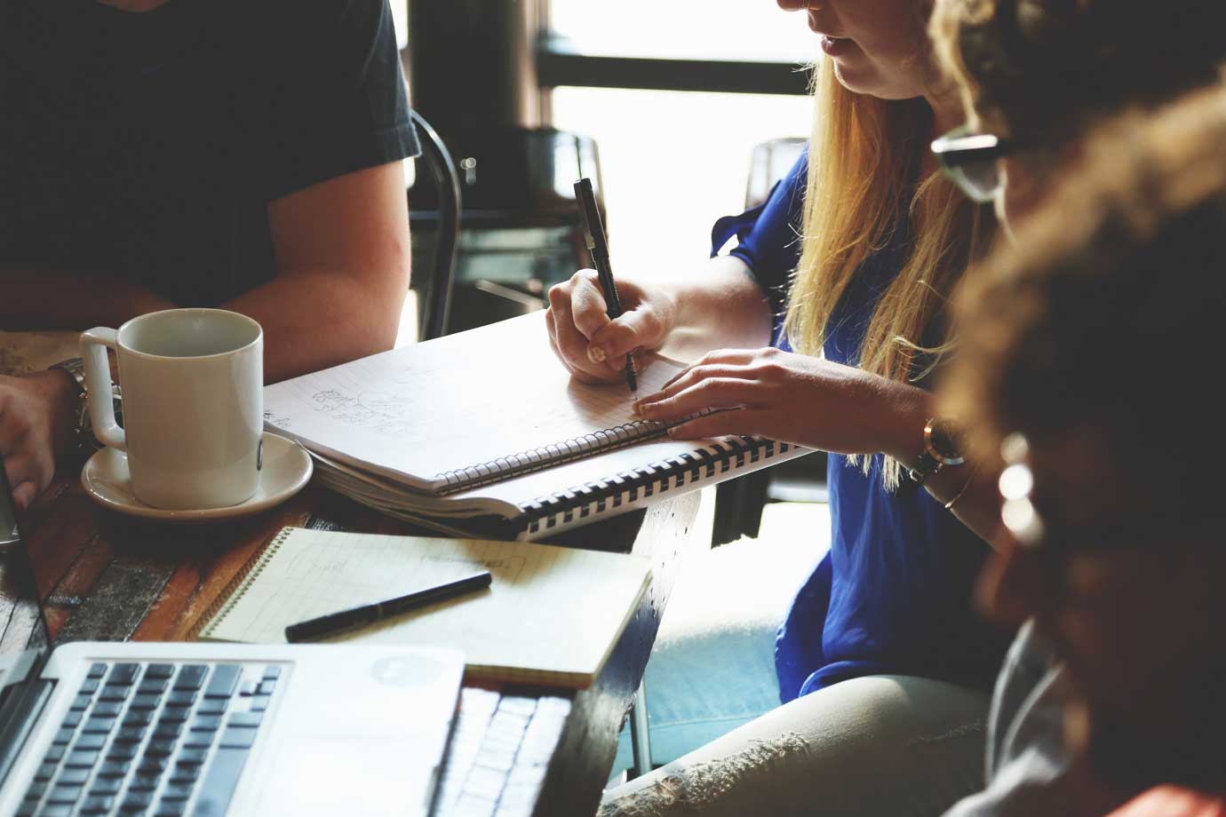 Design team collaborating