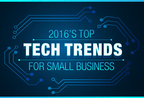 2016's top tech trends for small business
